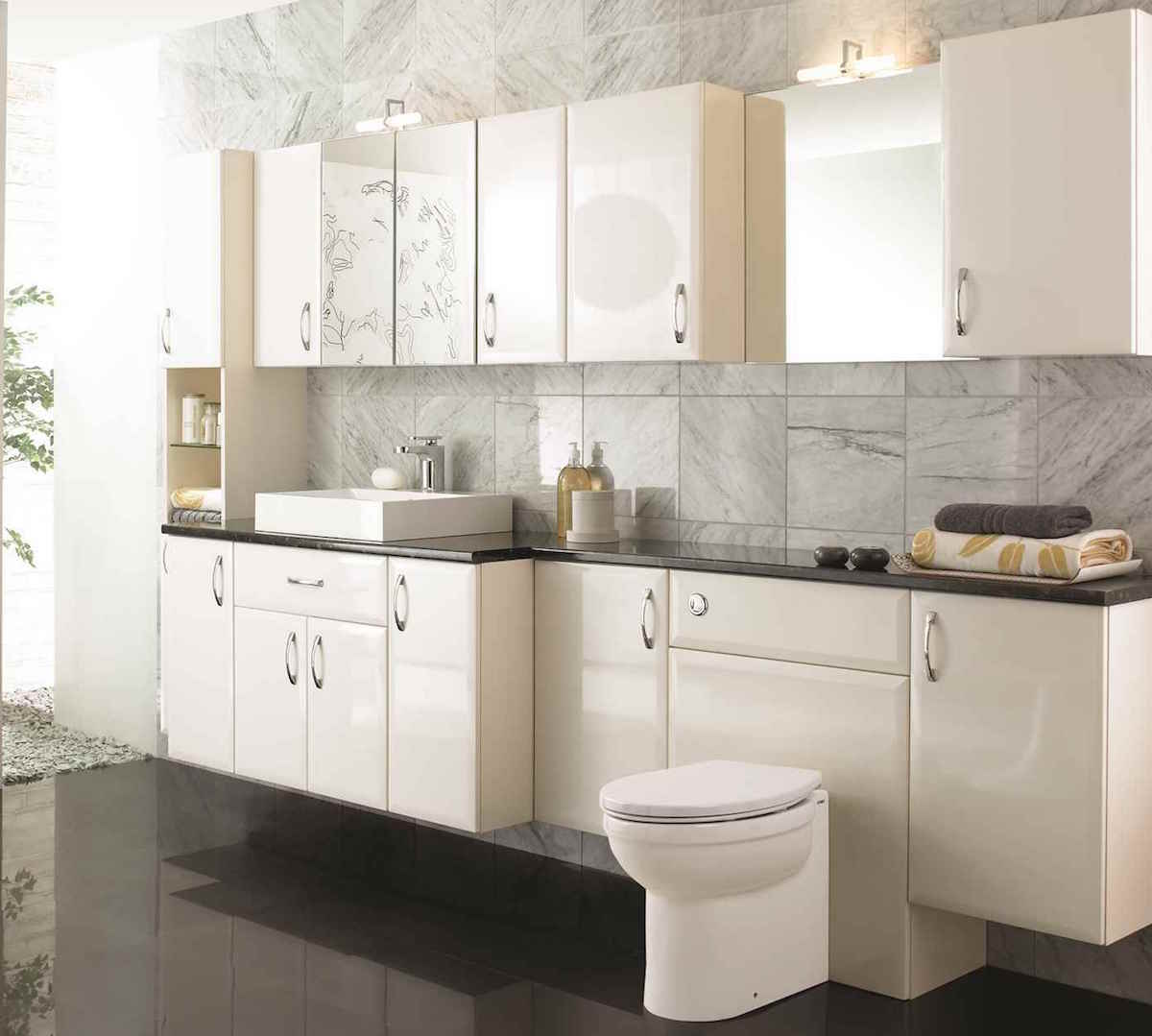 Tilemaze fitted bathroom furniture cabinets for Bathroom furniture
