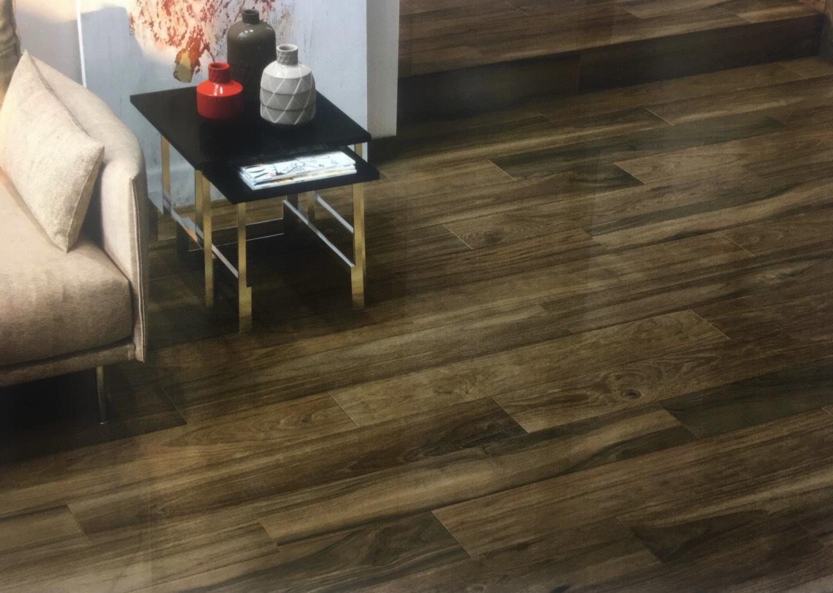 Tile that looks like wood floors